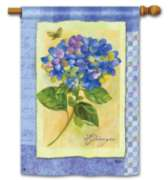 Hydrangea Splendor- Standard Flag by Magnet Works