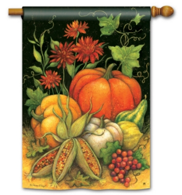 Season's Harvest- Standard Flag by Magnet Works