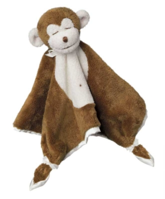 "Chocolate Monkey - 13"" Lil' Snuggler By Douglas Cuddle Toys"