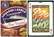 Luggage Labels - Playing Cards