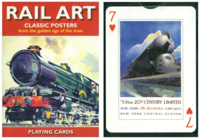 Rail Art - Playing Cards
