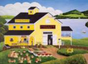Jigsaw Puzzles - Art Polin: Lakeview Farm