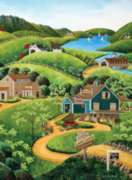 Jigsaw Puzzles - Art Polin: To the Barns