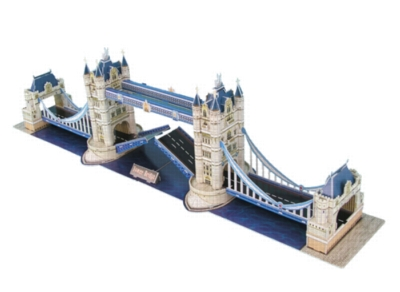 3D Puzzles - London Tower Bridge