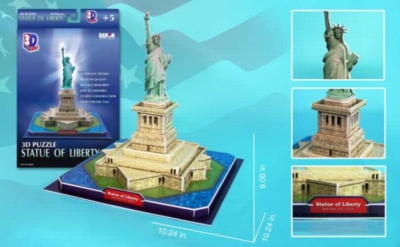 Statue of Liberty - 39pc 3D Jigsaw Puzzle by Daron