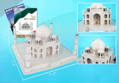 Taj Mahal - 87pc 3D Jigsaw Puzzle by Daron