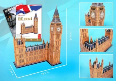 Big Ben - 116pc 3D Jigsaw Puzzle by Daron