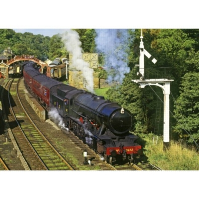 All Aboard - 500pc Jigsaw Puzzle by Falcon