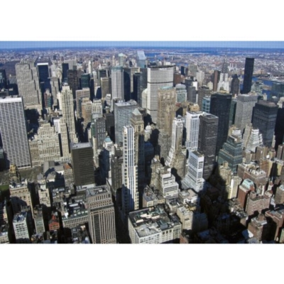 View from the Empire State Building - 1000pc Jigsaw Puzzle by Jumbo