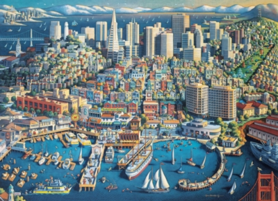 Jigsaw Puzzles - San Francisco, CA