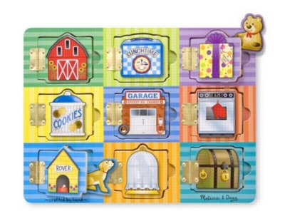 Magnetic Hide & Seek Board By Melissa & Doug