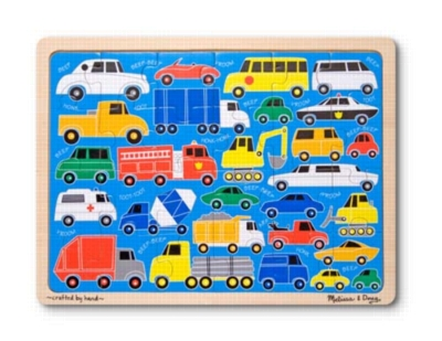 Jigsaw Puzzles For Kids - Beep Beep