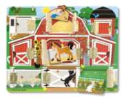 Magnetic Farm Hide & Seek Board By Melissa & Doug