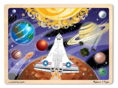 Melissa and Doug Floor Puzzles - Space Voyage Jigsaw