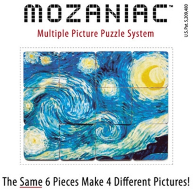 Four Elements - Mozaniac (TM) Multiple Picture Puzzle