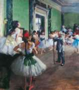 The Dancing Lesson - 1000pc Jigsaw Puzzle by Clementoni