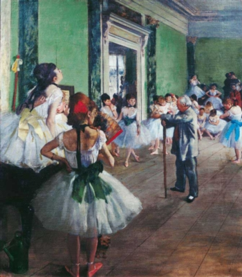 The Dance Class - 1000pc Jigsaw Puzzle by Clementoni