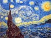 Van Gogh: Starry Night - 2000pc Jigsaw Puzzle by Clementoni