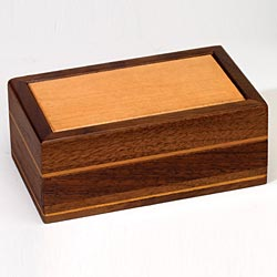Two Toned Confidential Keeper - Puzzle Box