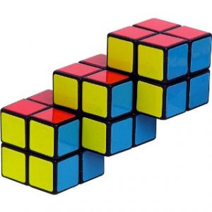 Puzzle Cubes - Triple 2x2 Cube