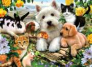 Happy Animal Buddies -  300pc Jigsaw Puzzle by Ravensburger