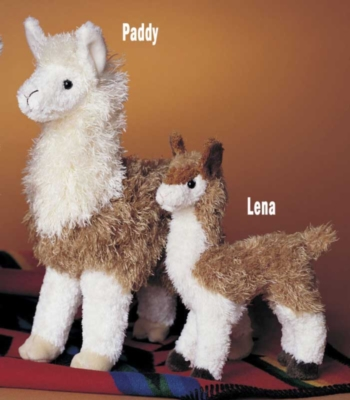 Lena - 7'' Llama By Douglas Cuddle Toys