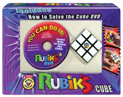 Rubik's You Can Do It! (DVD & 3x3 Rubik's Cube)