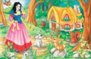 Snow White - 60pc Jigsaw Puzzle by Cobble Hill