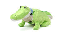 "Baby Kojo (Plush / Pillow / Blanket) - 20.5"" Crocodile by Zoobie Pets"