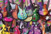 Six String Fling - 234pc TDC Miniature Jigsaw Puzzle