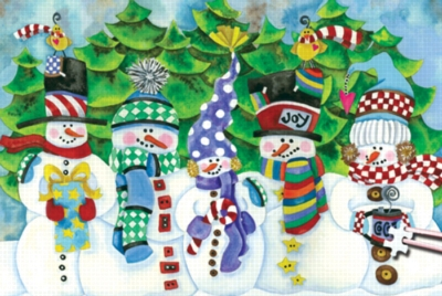 White Christmas - 234pc TDC Miniature Jigsaw Puzzle