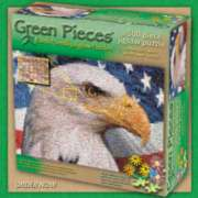 Jigsaw Puzzles - Green Pieces: AmeriCANS