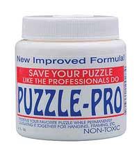 Jigsaw Puzzle Glue - Jigsaw Puzzle Accessory