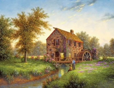 Country Mill - 500pc Jigsaw Puzzle by Springbok