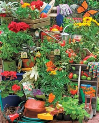 Spring Puzzles - Garden Delights