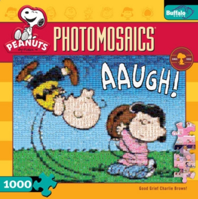 Peanuts: Good Grief Charlie Brown - 1000pc Jigsaw Puzzle By Buffalo Games