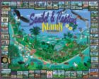 Sanibel & Captiva Islands, FL - 1000pc Jigsaw Puzzle by White Mountain