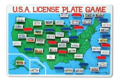 License Plate Game - Travel Games by Melissa & Doug