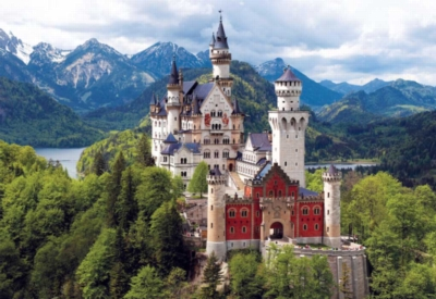 Neuschwanstein Castle, Bavaria - 2000pc Jigsaw Puzzle by Buffalo Games