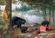 Breakfast Time Bears  - 500pc Jigsaw Puzzle by Buffalo Games
