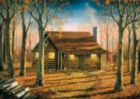 Woodland Cabin - 500pc Jigsaw Puzzle by Buffalo Games