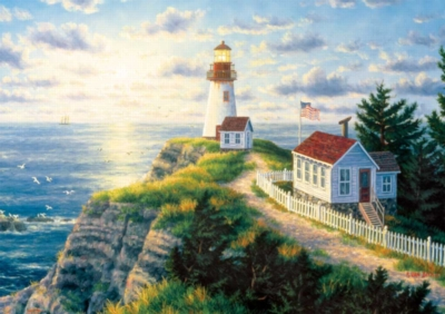 Dawn's Early Light - 500pc Jigsaw Puzzle by Buffalo Games