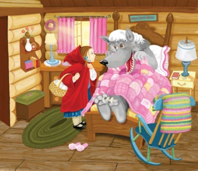 Little Red Riding Hood - 200pc Jigsaw Puzzle by Sunsout