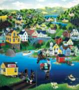 Ferry Crossing - 300pc Large Format Jigsaw Puzzle by Sunsout