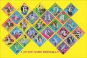 Alphabet Quilt - 48pc Jigsaw Puzzle by Sunsout