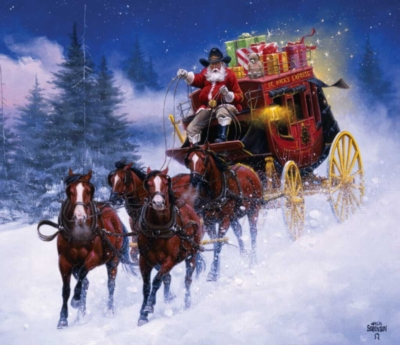 St. Nicks Express - 550pc Jigsaw Puzzle By Sunsout