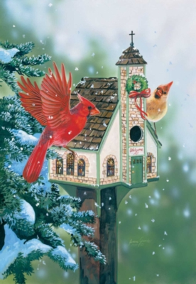 Welcome All Cardinals - 500pc Jigsaw Puzzle By Sunsout