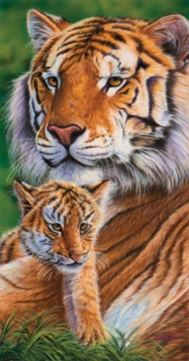 Mother's Pride - 500pc Jigsaw Puzzle By Sunsout