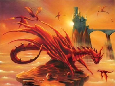 Battle at the Magic Hour - 500pc Jigsaw Puzzle By Sunsout