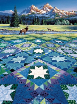 Mountain Vigil - 1000pc Jigsaw Puzzle By Sunsout